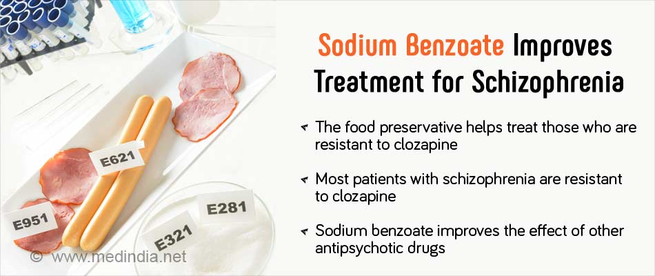 sodium benzoate as food preservative 1 sodium benzoate (e211) is a preservative used to prevent food from molding 2 it is especially used to preserve acidic foods and beverages such as pickles, salad dressings, fruit juices, and soft drinks.