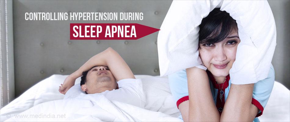 Drug to Control Hypertension During Sleep Apnea Identified