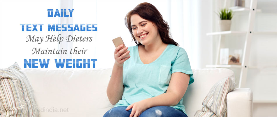 Text Messages Could Help Dieters Maintain Their New Weight