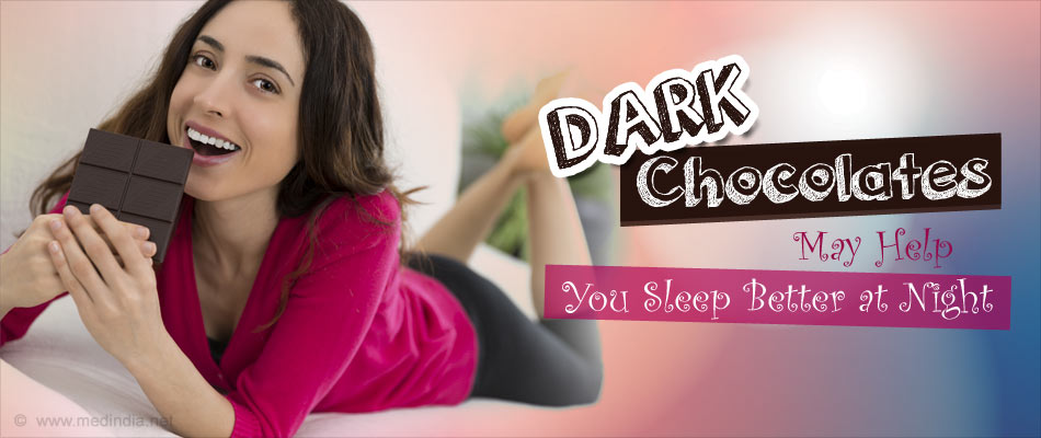 Longing for a Good Night's Sleep? Dark Chocolate Could Be The Answer!