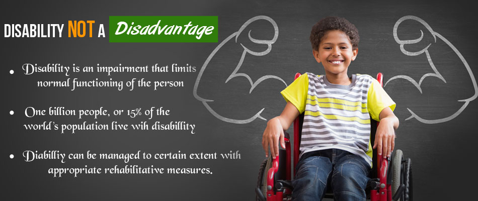 Disability Does Not Put You at a Disadvantage