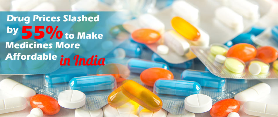 Essential Drugs Are Made Cheaper by 55% in India