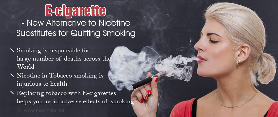 E Cigarette May Help To Quit Smoking With Minimal Side