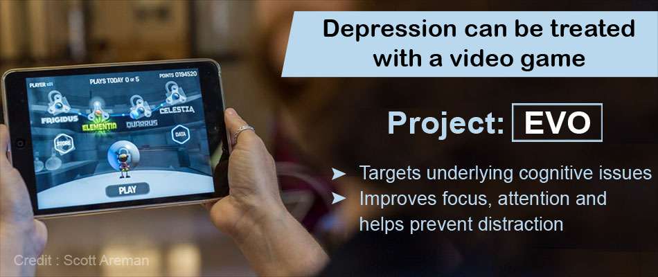 Video Game Offers Promising Results for Treating Depression
