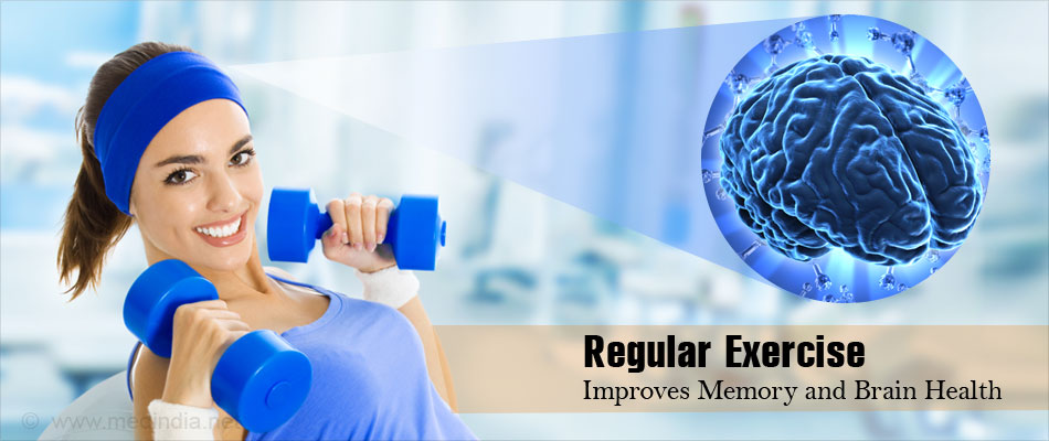 Exercise Improves Memory by Promoting Nerve Cell Growth