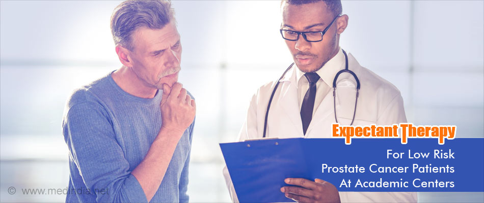 Academic Centers More Likely To Provide Expectant Management for Low Risk Prostate Cancer Patients