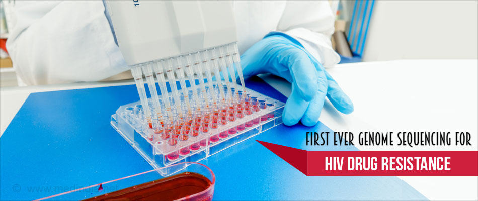 First-Ever Next Generation Sequencing Test to Detect HIV Drug Resistance