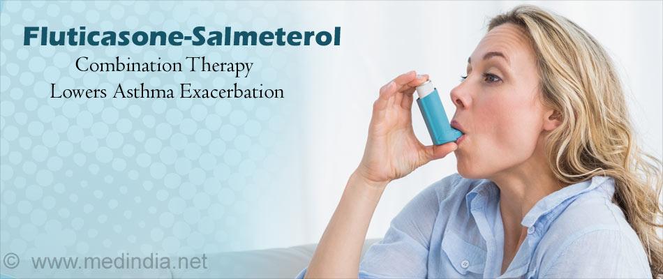 Fluticasone-Salmeterol Combination in Moderate-to-Severe Asthma