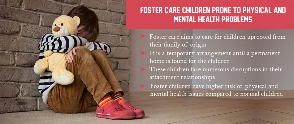 Children in Foster Care Have Higher Risk of Physical and