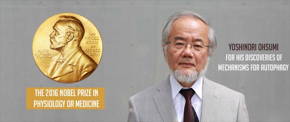 Nobel Prize 2016 in Medicine Goes to Japanese Yoshinori Ohsumi for Work on Autophagy