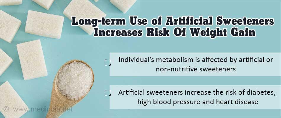 Do Artificial Sweeteners Increase Risk Of Weight Gain, Heart Disease?