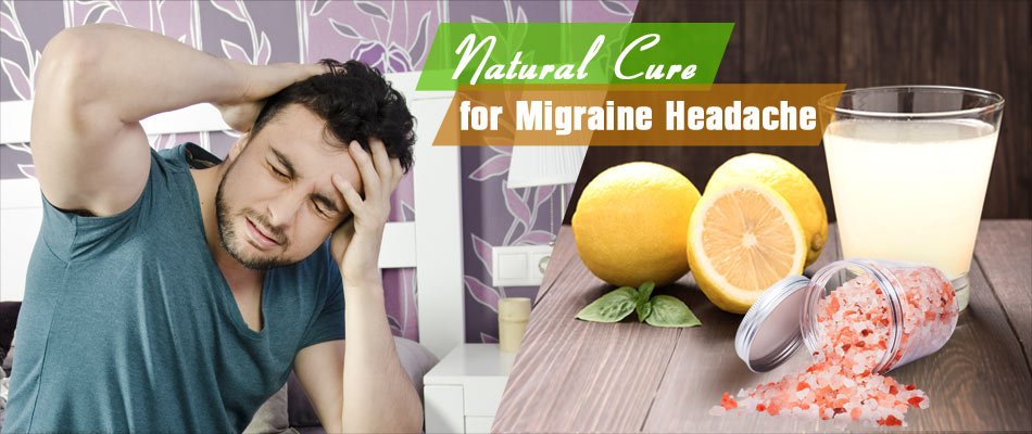 Got Migraine Headache? Lemon Juice and Sea Salt can Help Within Minutes