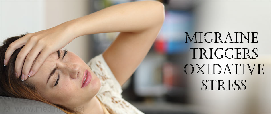 Migraine Triggers and Oxidative Stress