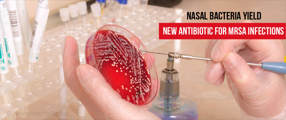 Human Nose Yields New Antibiotic for Bacterial Infections