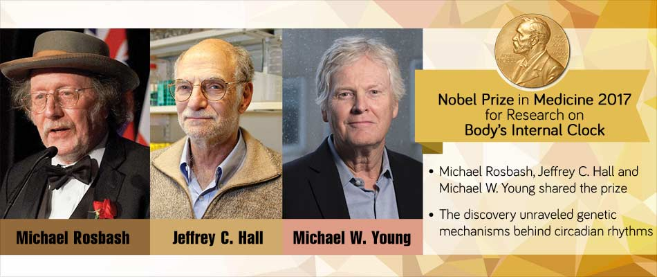 Nobel Prize in Medicine 2017 For Research On Body's Internal Clock