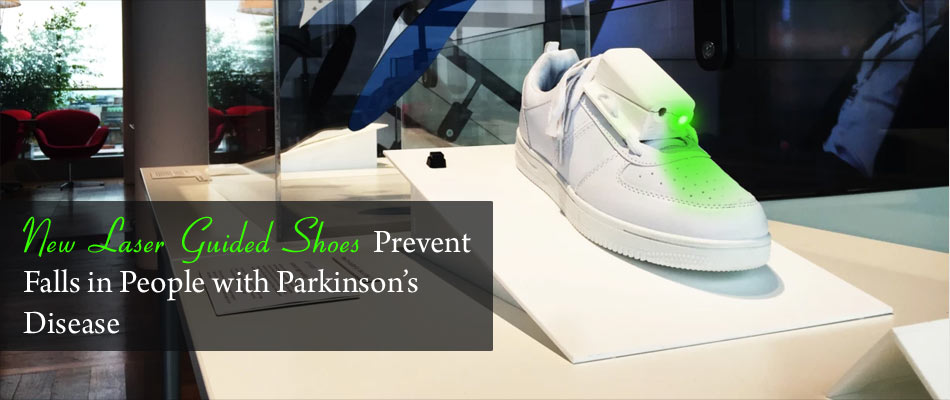 Laser Guided Shoe for Parkinson�s Sufferers Wins Award