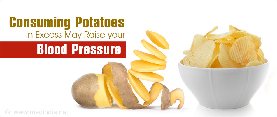 Potato-heavy Diet Linked to Increased Risk of Hypertension