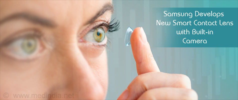 Contact Lens With Built in Camera Patented