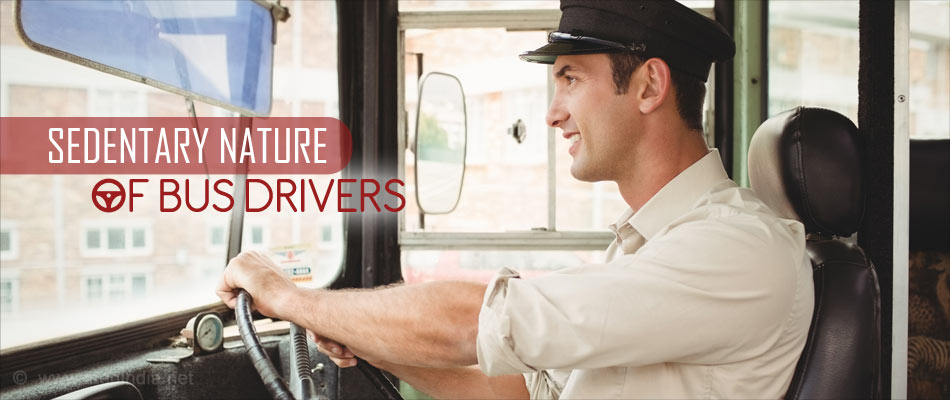 Sedentary Nature of Job of Bus Drivers Could Lead to Increased Health Risk