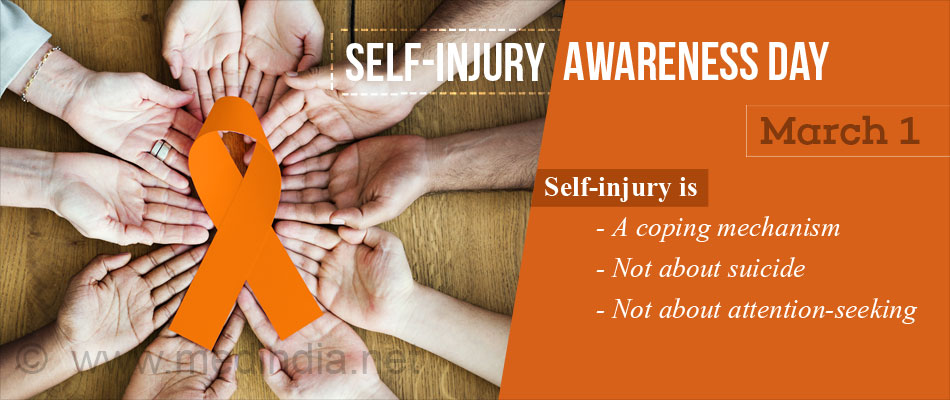 Self Injury Awareness Day March 1