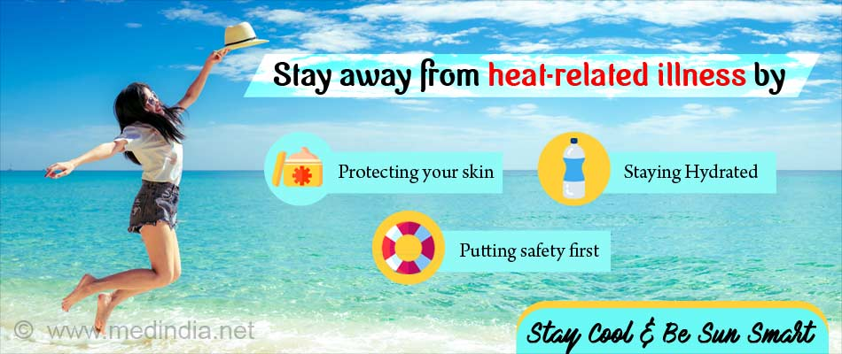 Stay Safe and Well from the Summer Heat