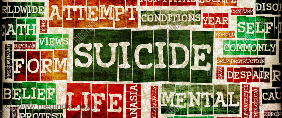 Suicide Tops as the Biggest Killer Among Indian Youths