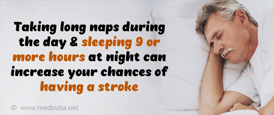 Sleeping More Than Nine Hours a Night may Up Stroke Risk