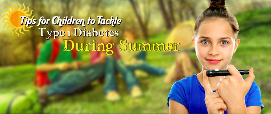 Top Ten Tips for Children on Insulin for Type 1 Diabetes During Their Summer Break