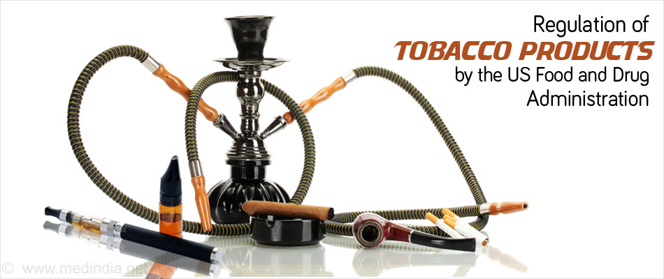 E-cigarettes, Hookah, Nicotine Gel Come Under Purview of FDA