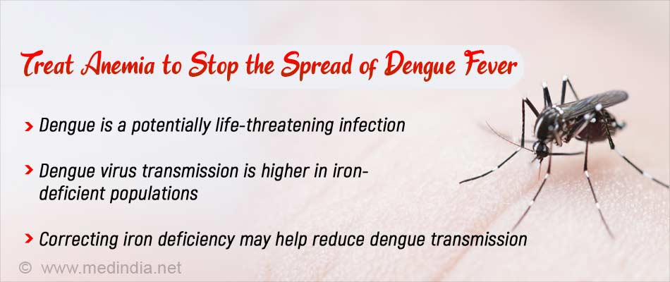 Watch Out: Anemia can Spread Deadly Dengue Virus