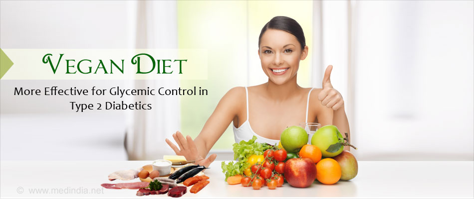 Comparison of Vegan Diet and Conventional Diabetic Diet on Glycemic Control of Type 2 Diabetics