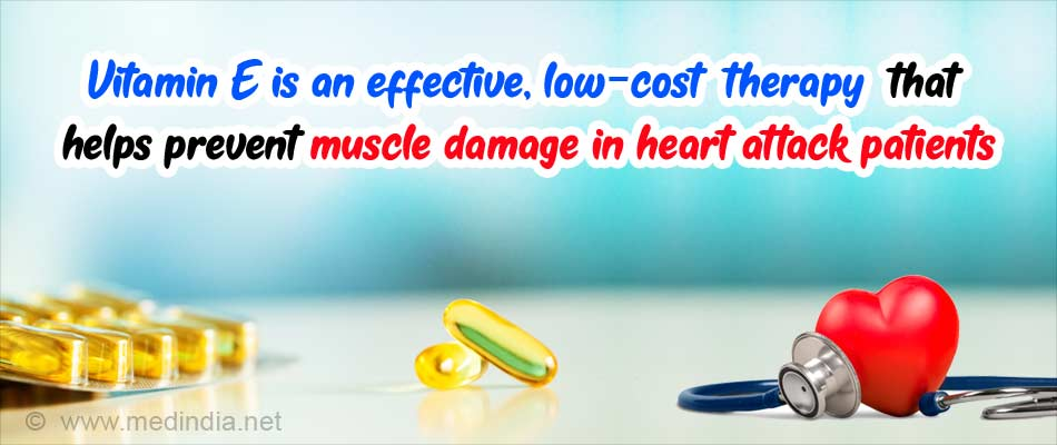 Vitamin E can Prevent Muscle Damage After Heart Attack