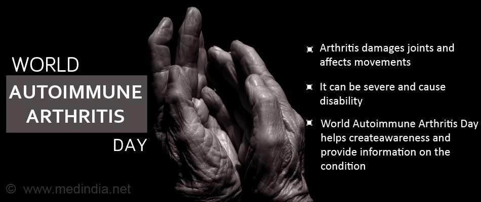 World Autoimmune Arthritis Day 2017