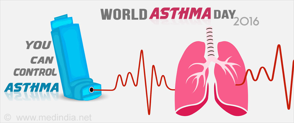 World Asthma Day 2016 - 'You Can Control Asthma'