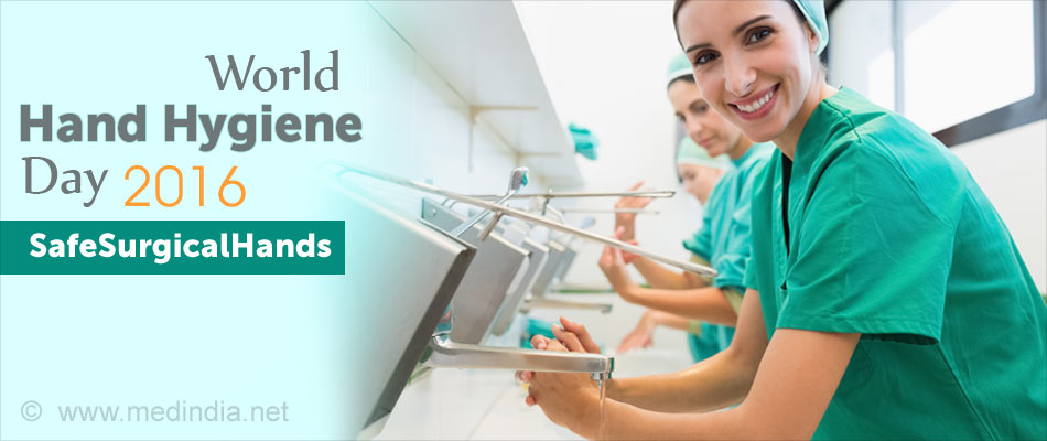 World Hand Hygiene Day 2016 - Save Lives: Clean Your Hands - #Safesurgicalhands