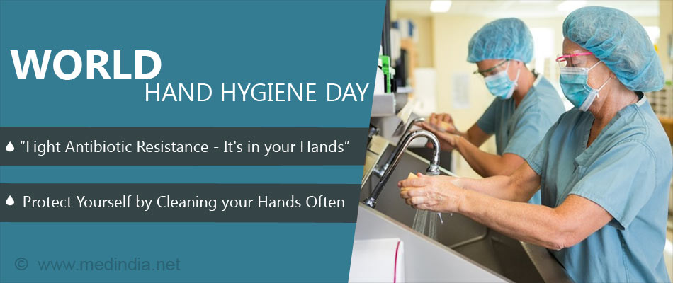 World Hand Hygiene Day: Fight Antibiotic Resistance - It's in Your Hands