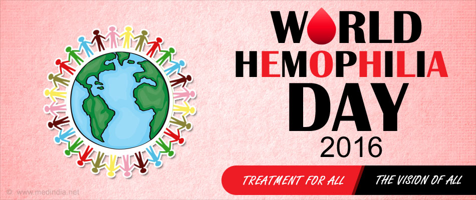World Hemophilia Day 2016 - Treatment for All - The Vision of All