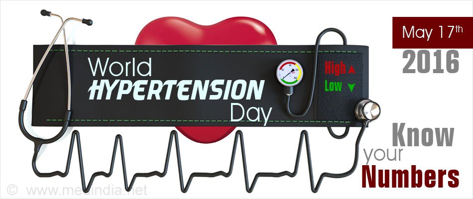 World Hypertension Day 2016- �Know Your Numbers�