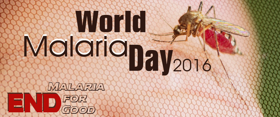 World Malaria Day 2016: End Malaria for Good