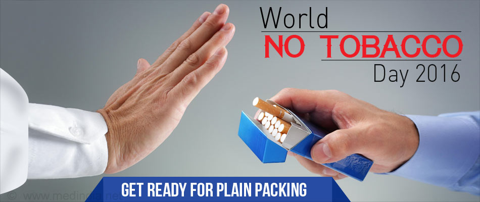 World No Tobacco Day 2016 - 'Get Ready for Plain Packaging'