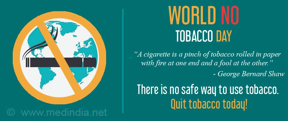 World No Tobacco Day: �Tobacco - A Threat to Development�