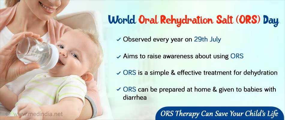 World ORS Day – ORS Prevents and Treats Dehydration Effectively