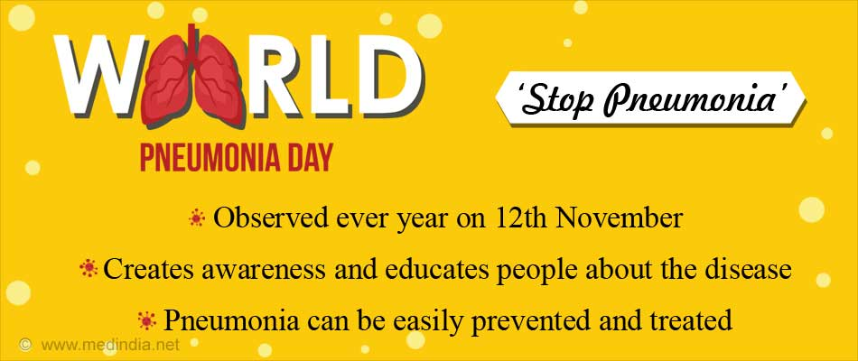 World Pneumonia Day - Halt Pneumonia's March