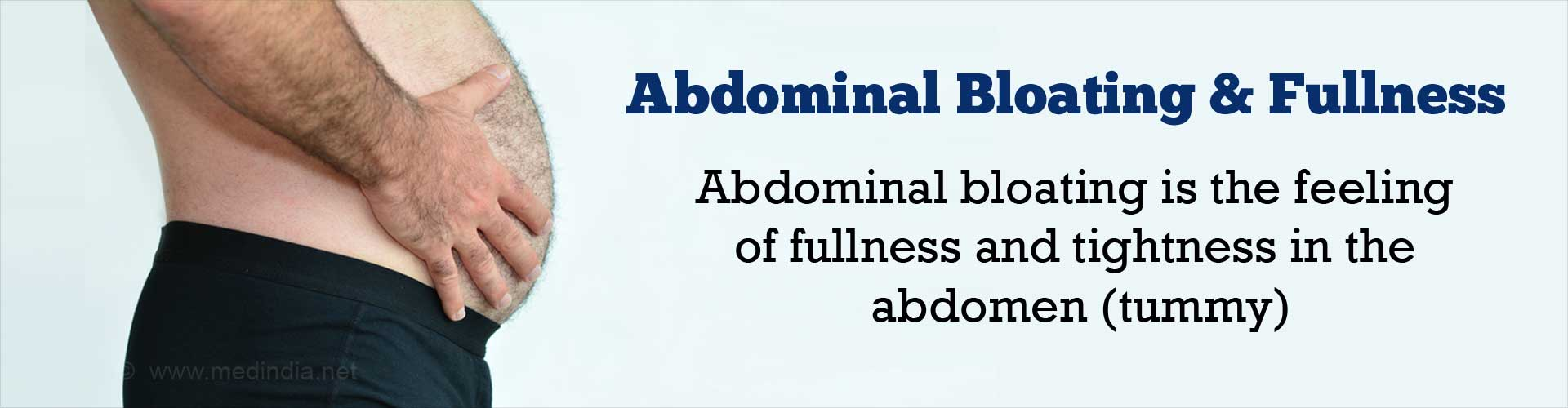 Abdomen Swelling and Fullness - Symptom Evaluation