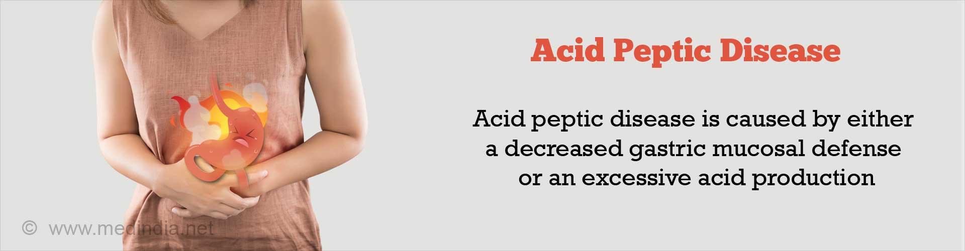 Acid Peptic Disease