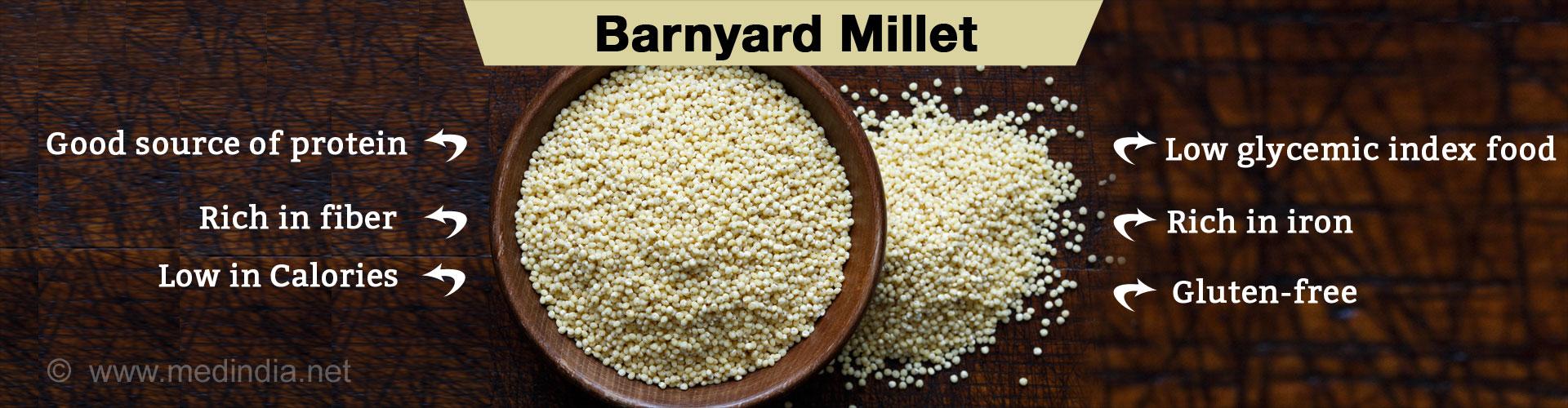 Top 5 Health Benefits of Barnyard Millet