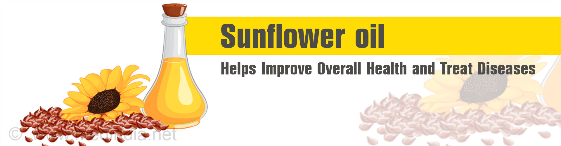 Top 10 Health Benefits of Sunflower Oil