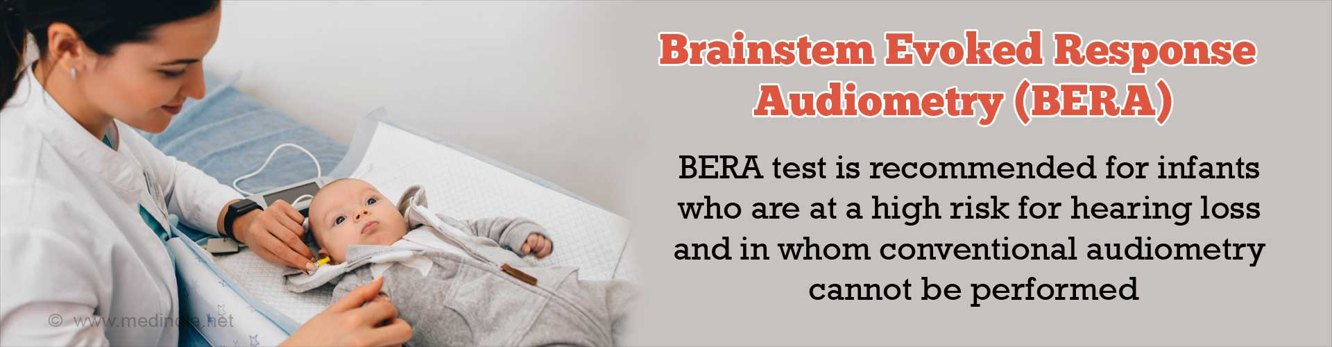 Brainstem Evoked Response Audiometry (BERA)