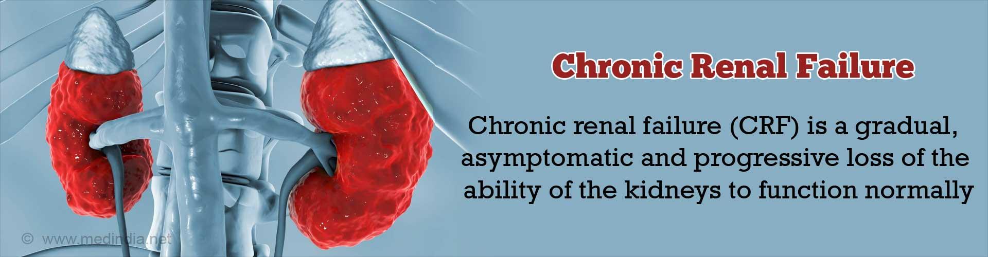 Chronic Renal Failure (CRF)