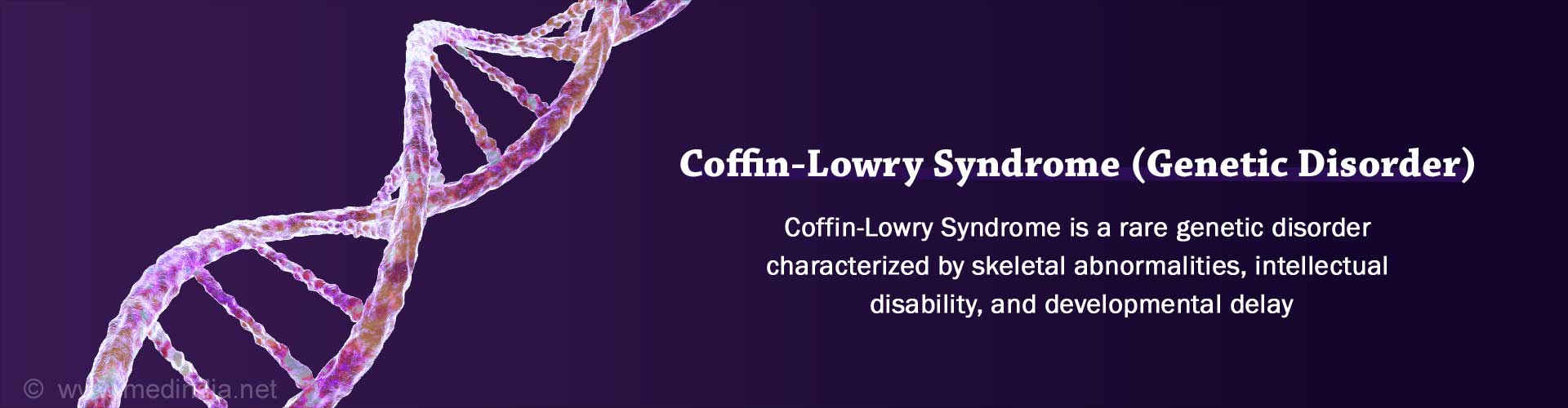 Coffin-Lowry Syndrome - Causes, Symptoms, Diagnosis, Treatment, Health Tips
